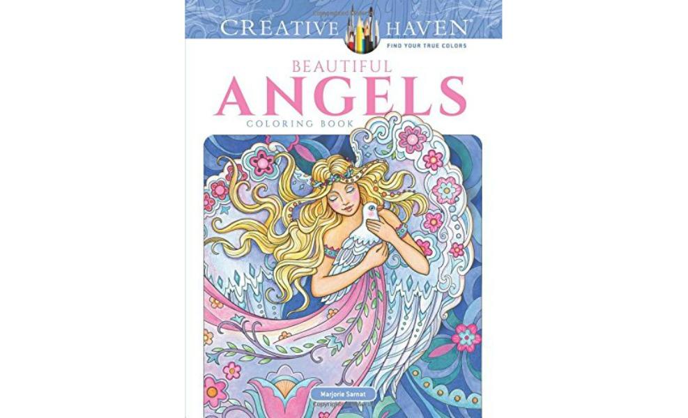 Creative Haven Beautiful Angels