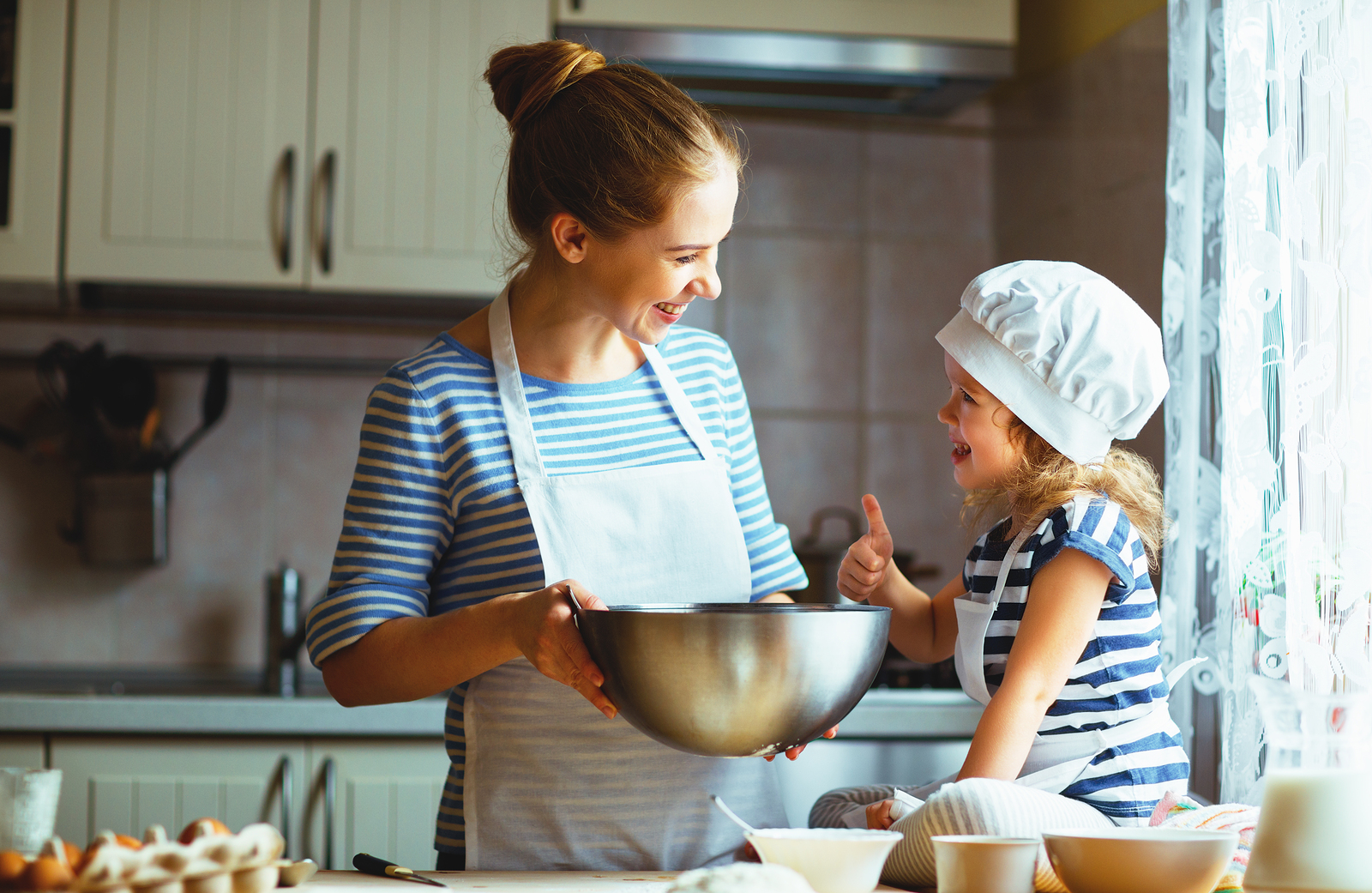 Here are a few ways to initiate more involvement in the kitchen.