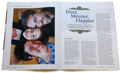 Yes! Magazine Sneak Peak: Freer, Messier, Happier