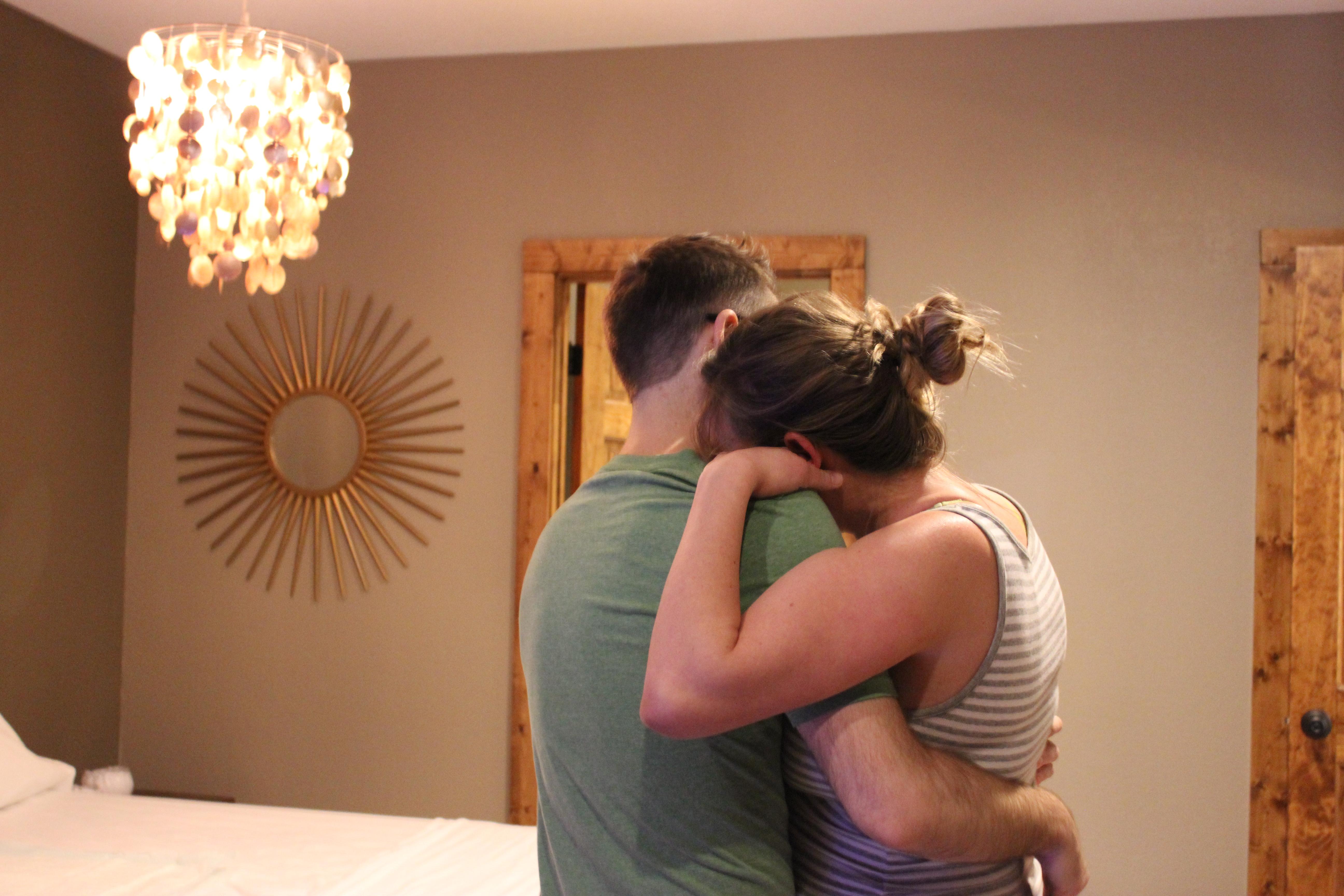 couple in labor