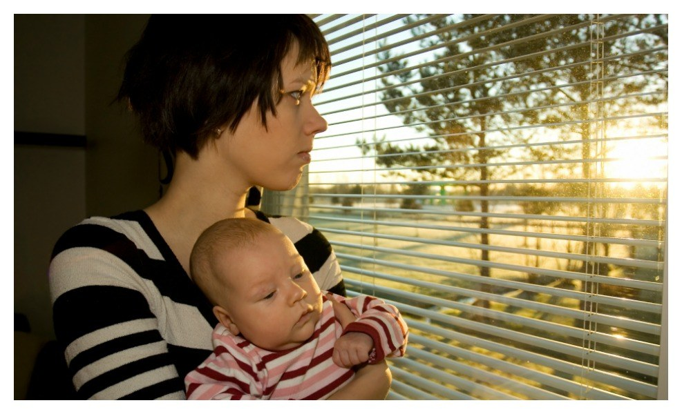 COVID-19 Postpartum Depression is a real risk for new moms