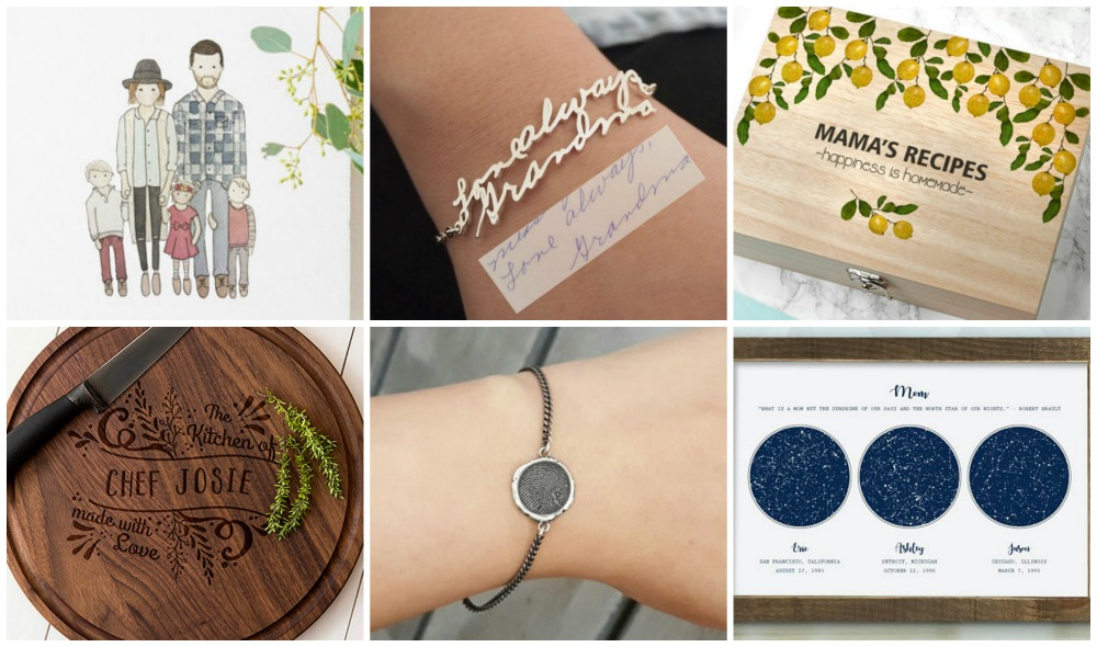 These customizable products on Etsy will last a lifetime and definitely make Mama swoon.