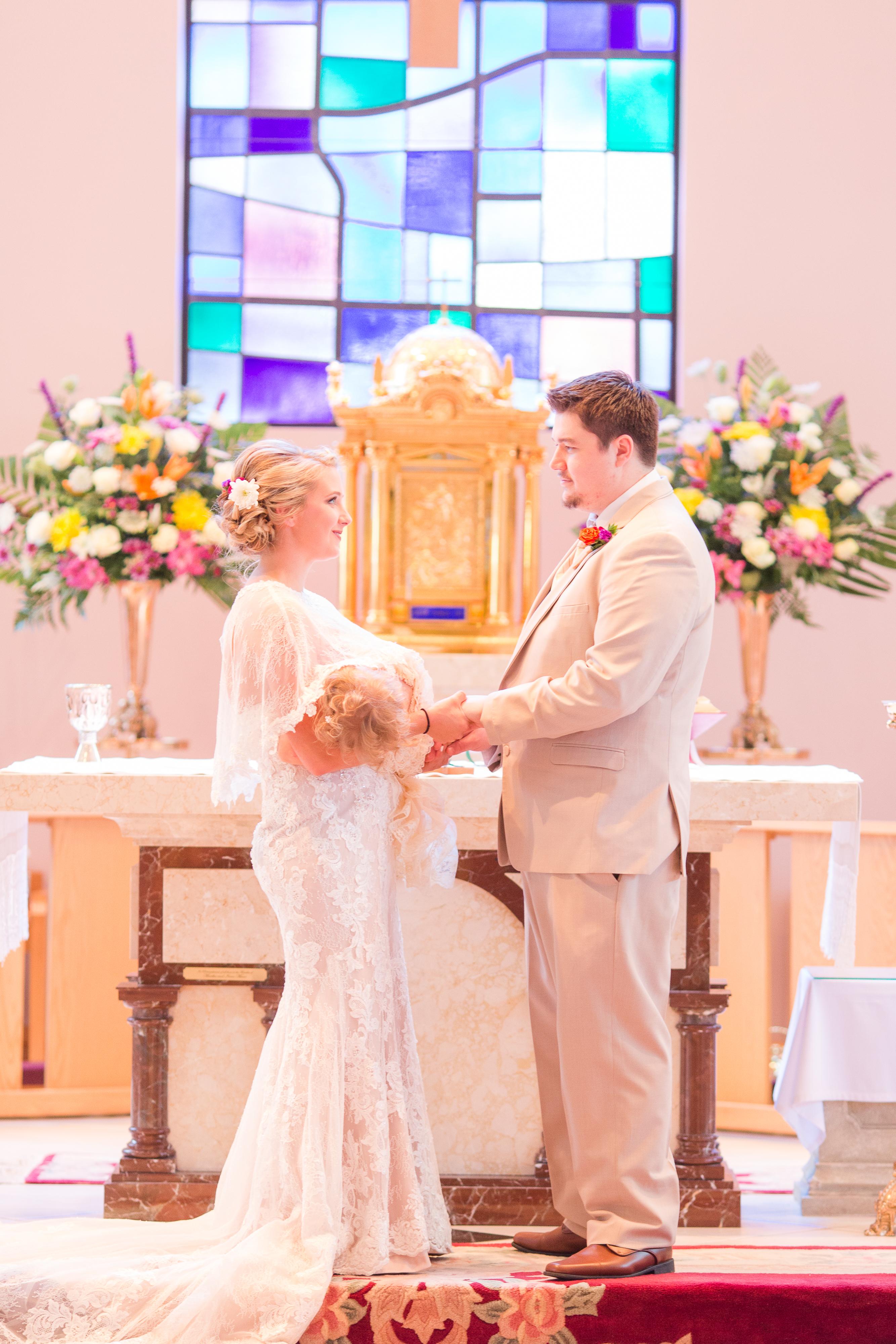 Babywearing Bride
