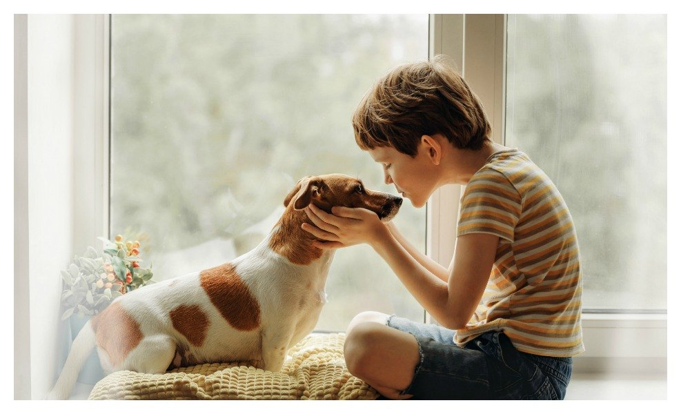 Death of a pet may trigger grief in children
