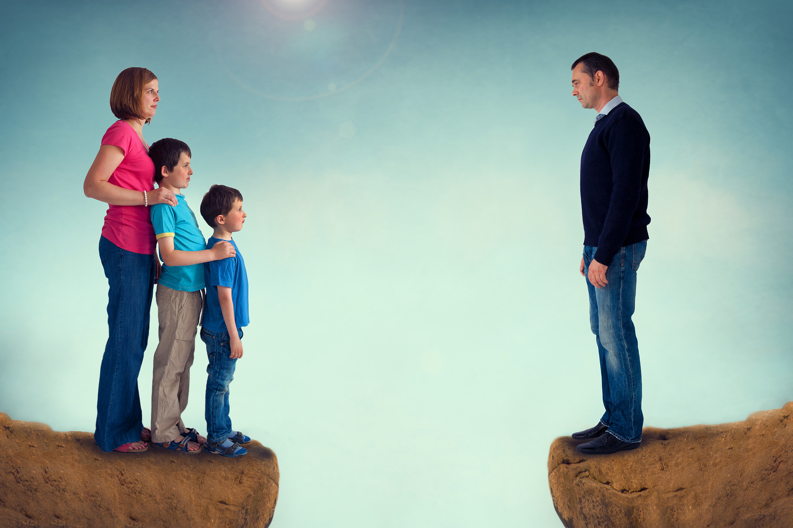 What happens to children when they encounter a truly stressful situation?