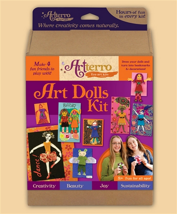 Image of: Art Dolls Kit