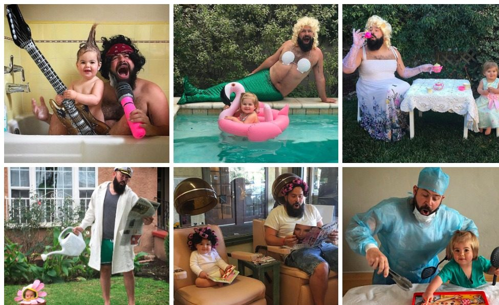This Father-Daughter Duo on Instagram Is the Ultimate Dress-Up Team
