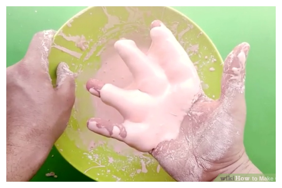 Oobleck is a great STEM activity for Earth Day