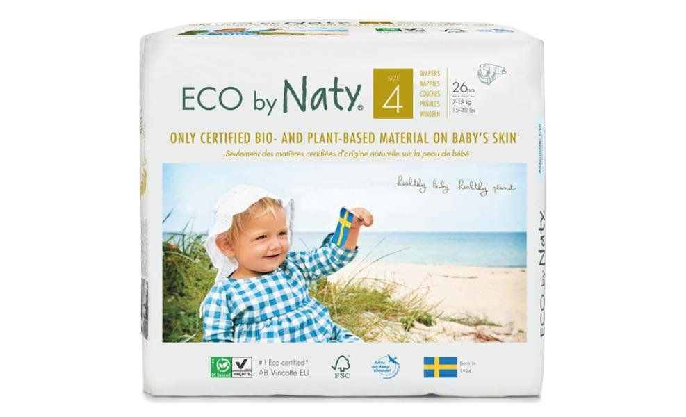 These eco-friendly diapers are strictly certified