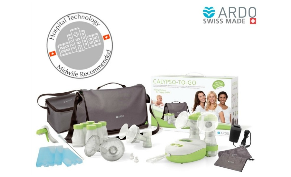 The Ardo Calypso To Go is an electric breast pump