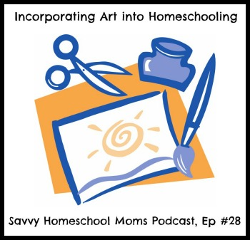 Incorporating Art into Homeschooling