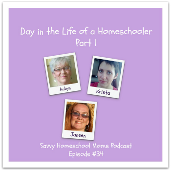 Day in the Life of a Homeschooler, Savvy Homeschool Moms Podcast