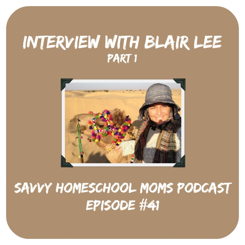 Interview with Blair Lee, author, Pt 1 (of 3)