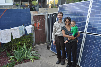 One Momma's Crazy New Year's Resolution To Go 100% Renewable