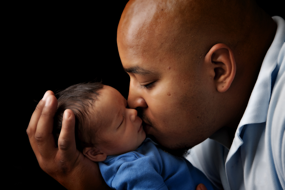 Fathers who interact with their children at an early age promote better mental development in their kids.