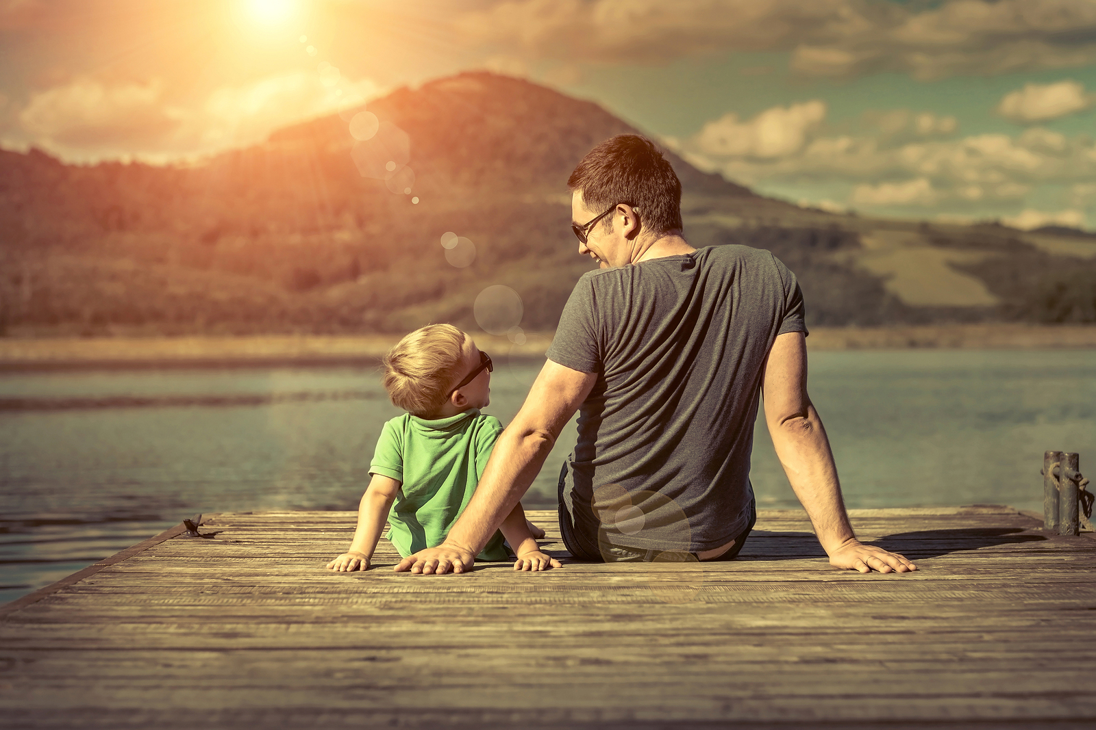 Parenthood is a catalyst for change, and it has changed my husband in many ways.