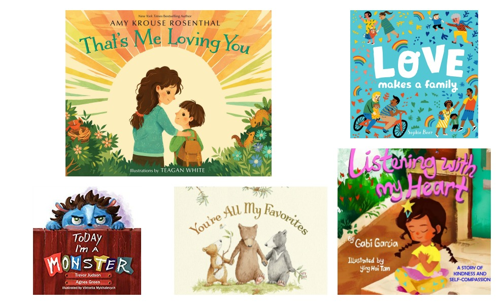 5 Books About Love Your Family Will LOVE