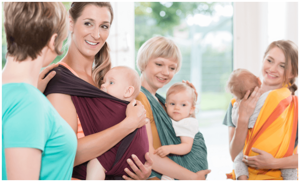 Creating real community as a mom is hard. Here are tips