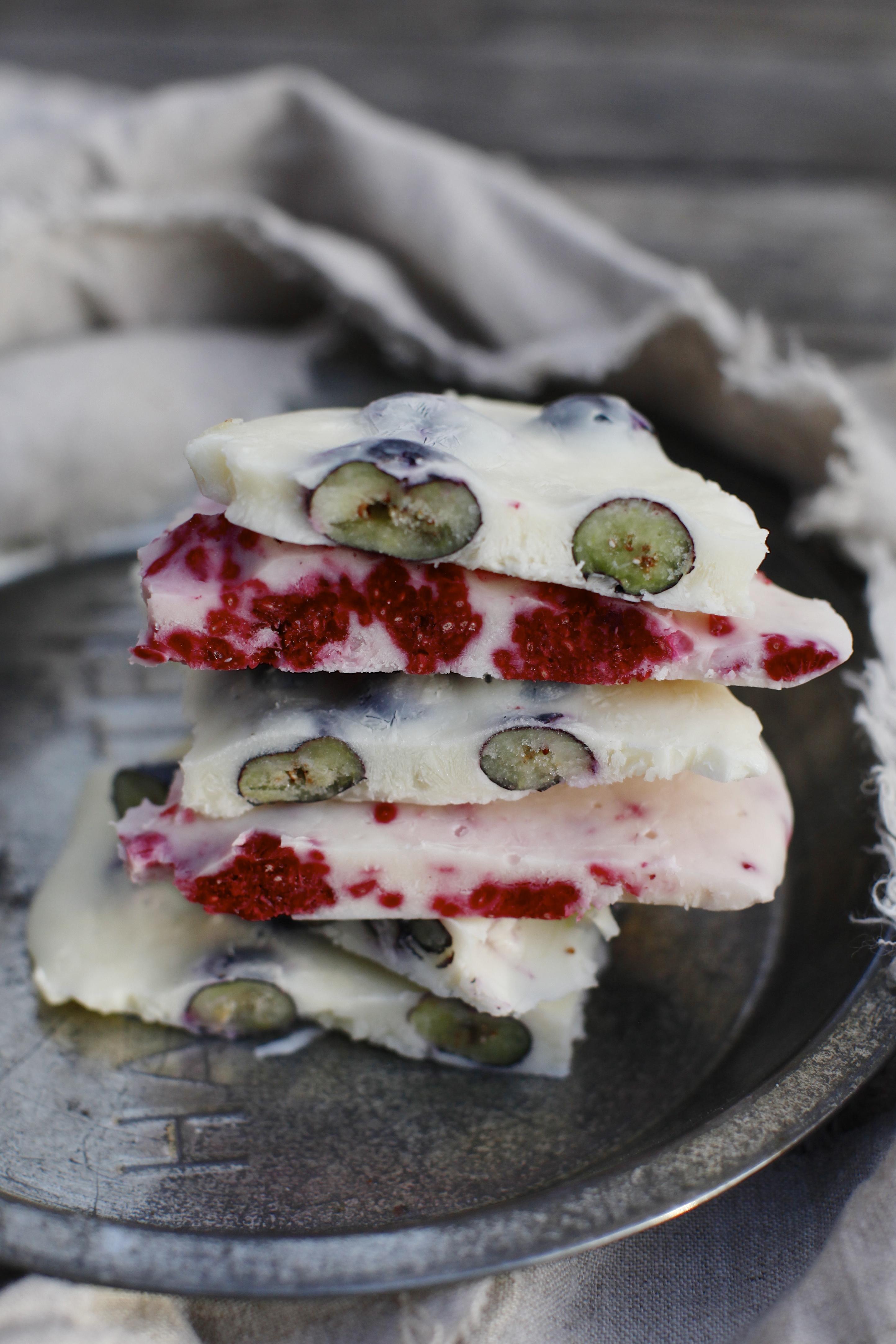 Frozen Yogurt Bark: An Icy, Creamy, Sweet for Summer