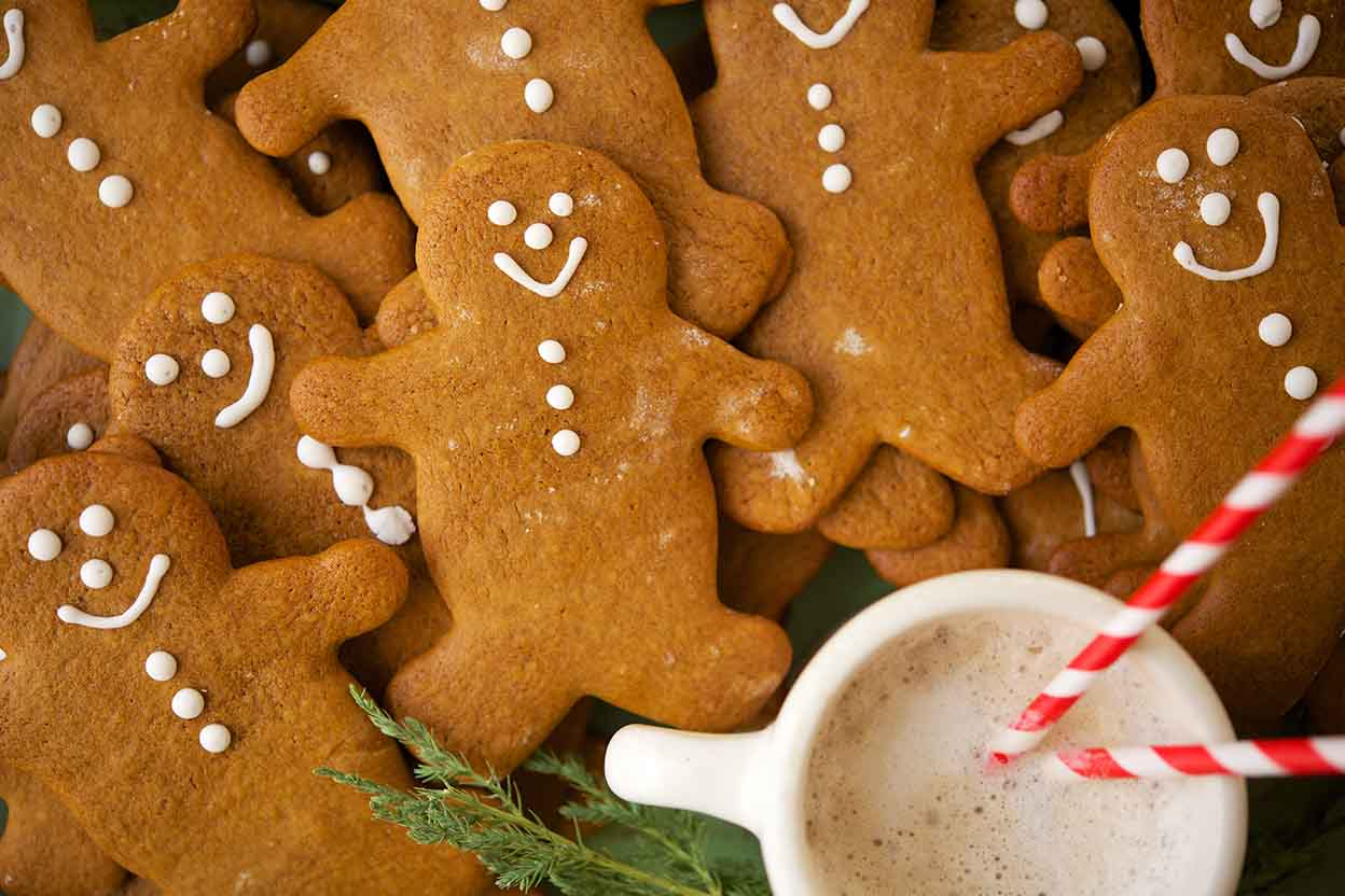 Invite Your Kids Into the Kitchen to Make Gingerbread Cookies!