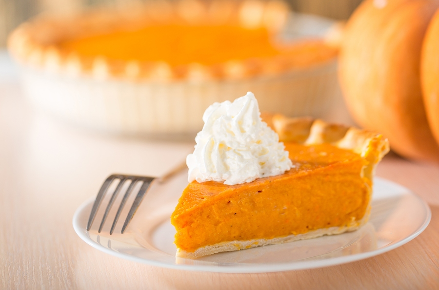 Those with food intolerances can enjoy this Gluten Free Pumpkin Pie recipe.