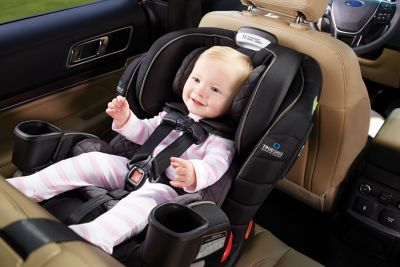 Here's our review on the Graco Extend2Fit 3-in-1 car seat featuring TrueShield Technology.