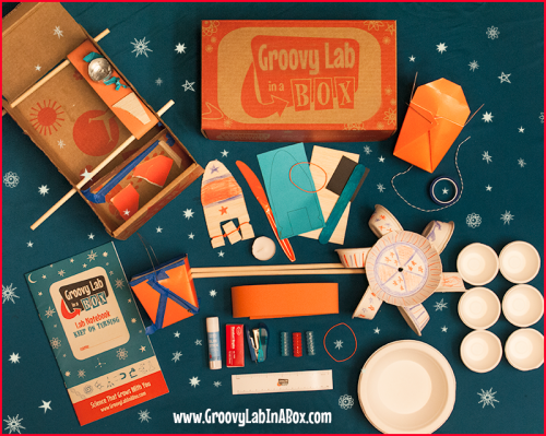 Image of: Groovy Lab in a Box Subscription