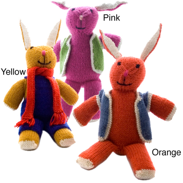 Image of: Sitara Collections Handmade Stuffed Bunny