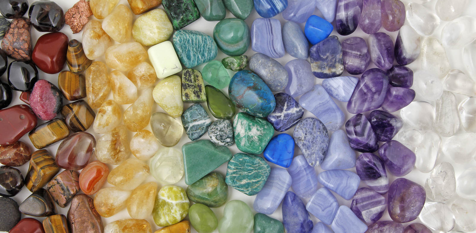I've often heard about stones and crystals as a source of healing and emotional energy.