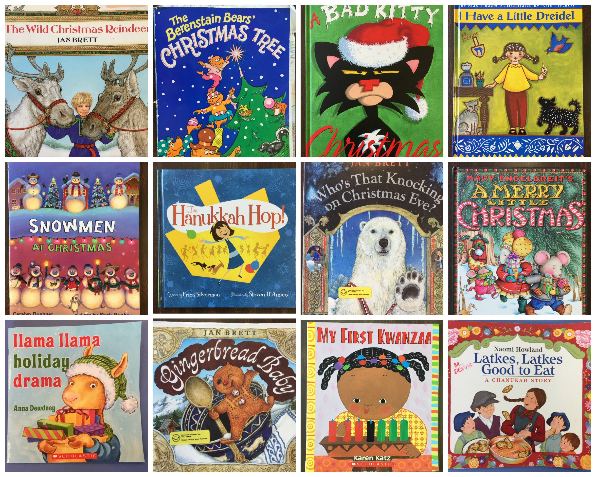 Books are a gift that you know are going to be cherished all year long, and your children will learn about holiday traditions from around the world.