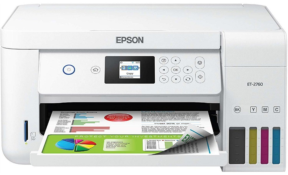 Now mom can print all her pictures eco-friendly