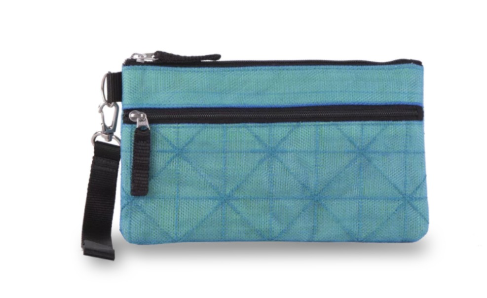 This clutch helps buy nets for families in need.