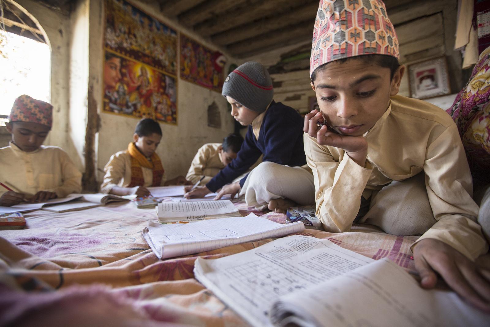 Here's a snapshot of what homework looks like around the world.