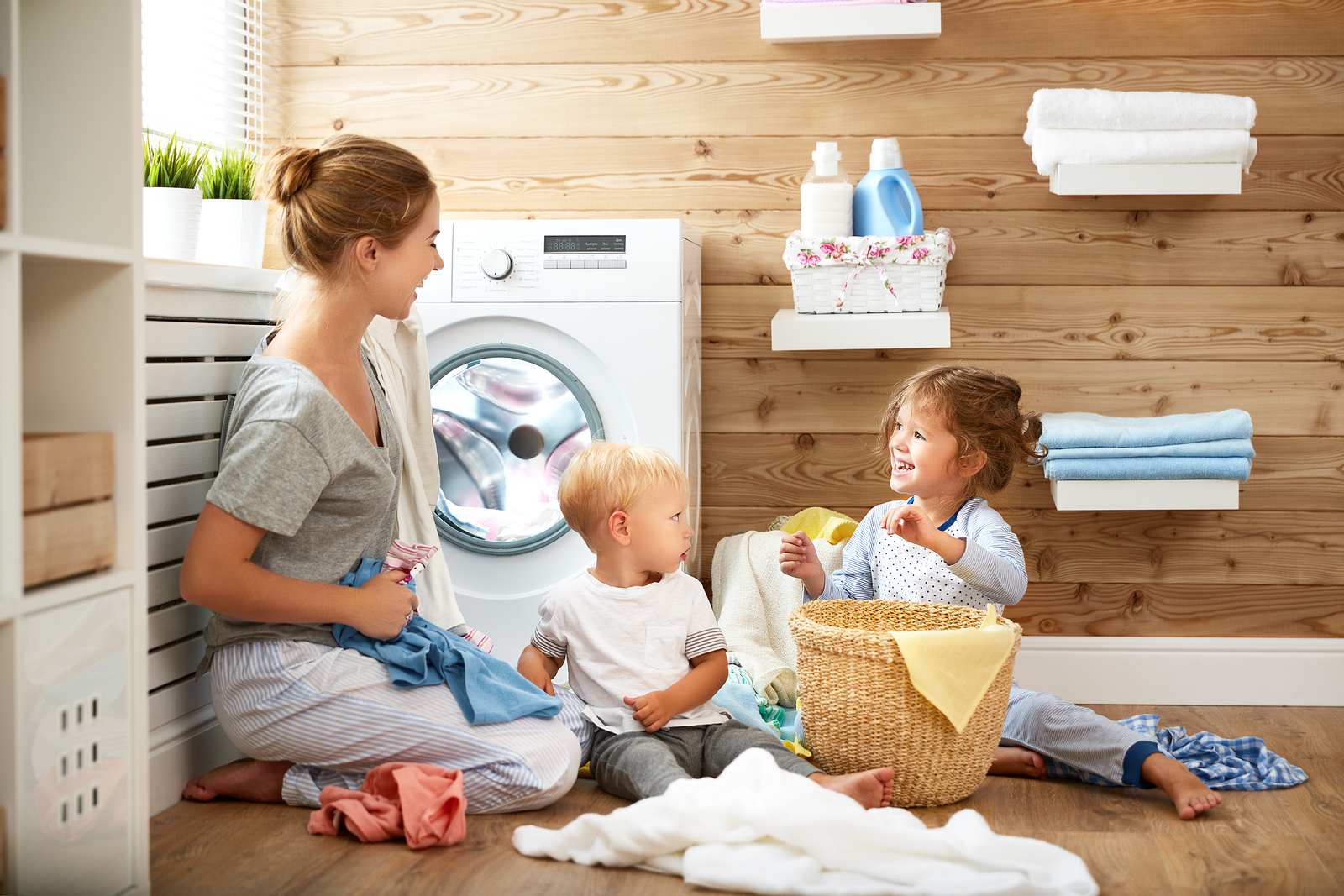 Here are some ways to attack household chores using attachment parenting principles.