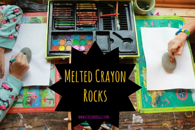 Fun Activity: How to Make Melted Crayon Rocks With Kids