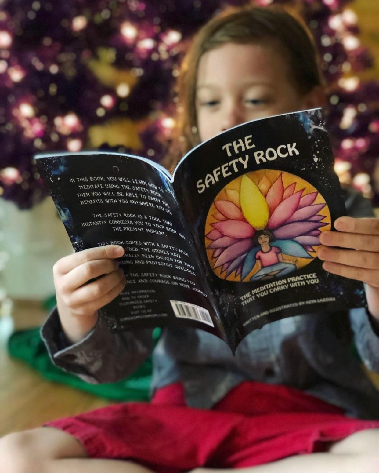 The Safety Rock teaches children about meditation