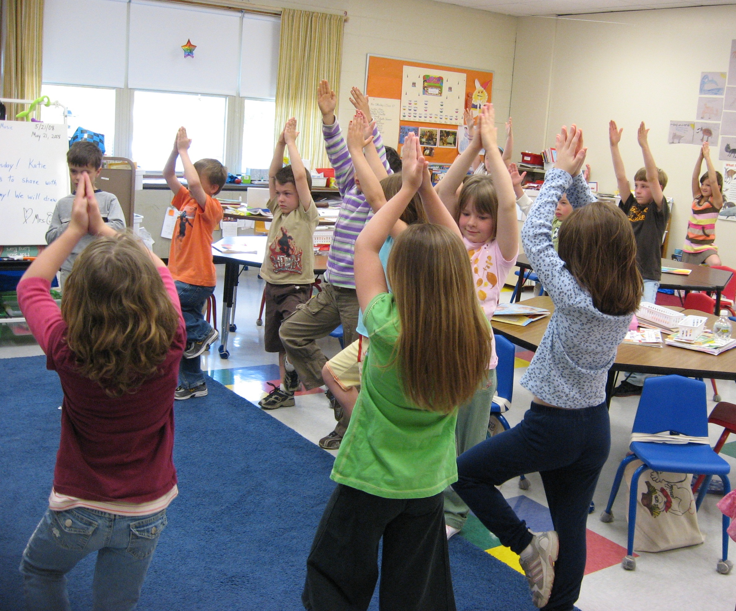 Using Yoga and Mindfulness to Help Kids Learn: A Teacher's Perspective