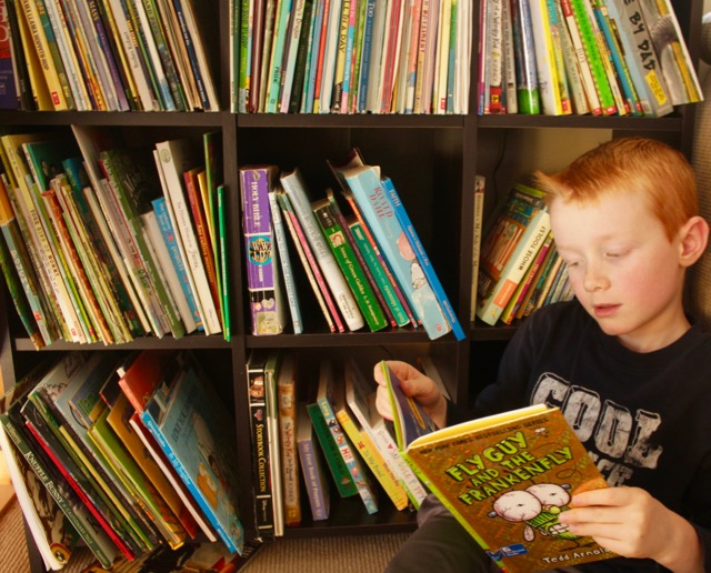 Reading in fun-demental! Consider these fun and engaging book recommendations from our family bookshelf when reading with your child.