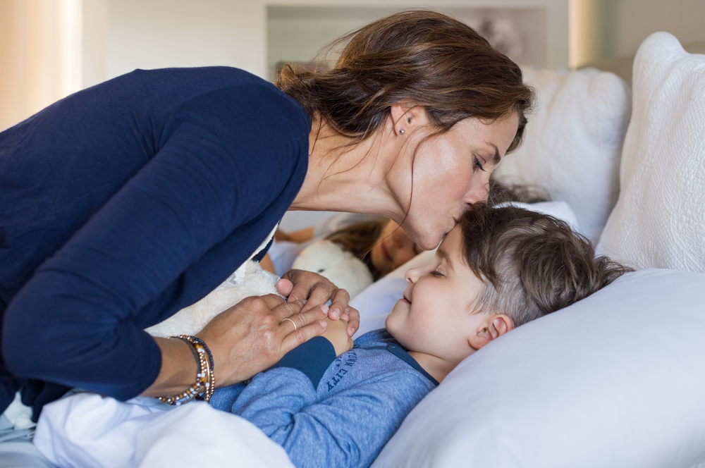 Try these 5 tips to gently transition your child to his or her own sleeping space.