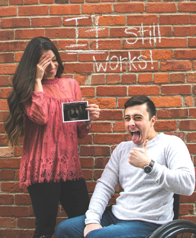 This Pregnancy Announcement Wins The Internet