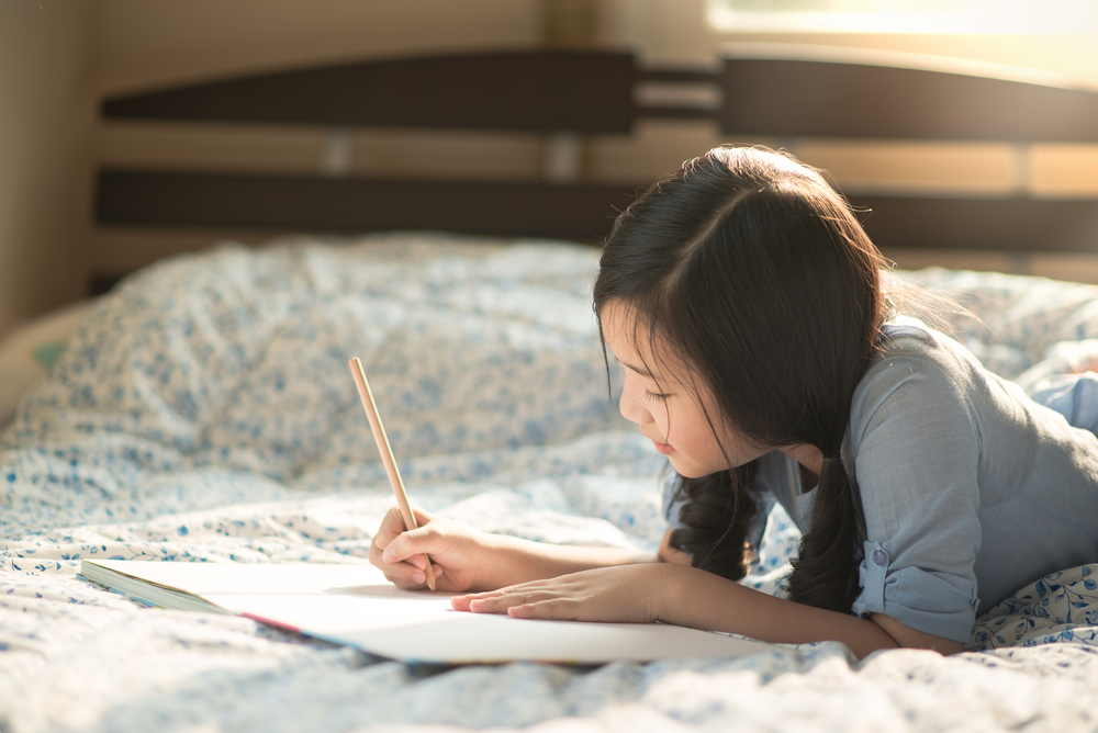 A parent-child journal is one great tool.