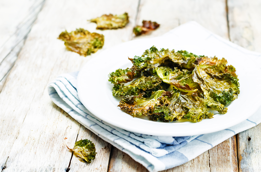 A healthy and crispy snack, kale chips are giving potatoes a run for their money.