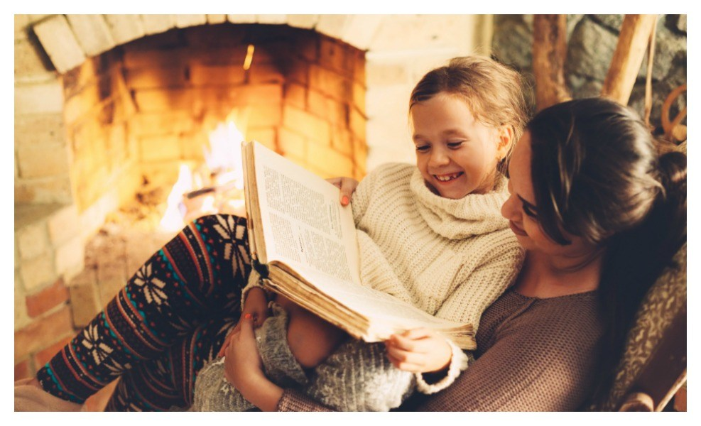 we've got the best kids book about winter traditions