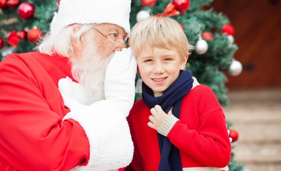 I don't make my kids believe in Santa