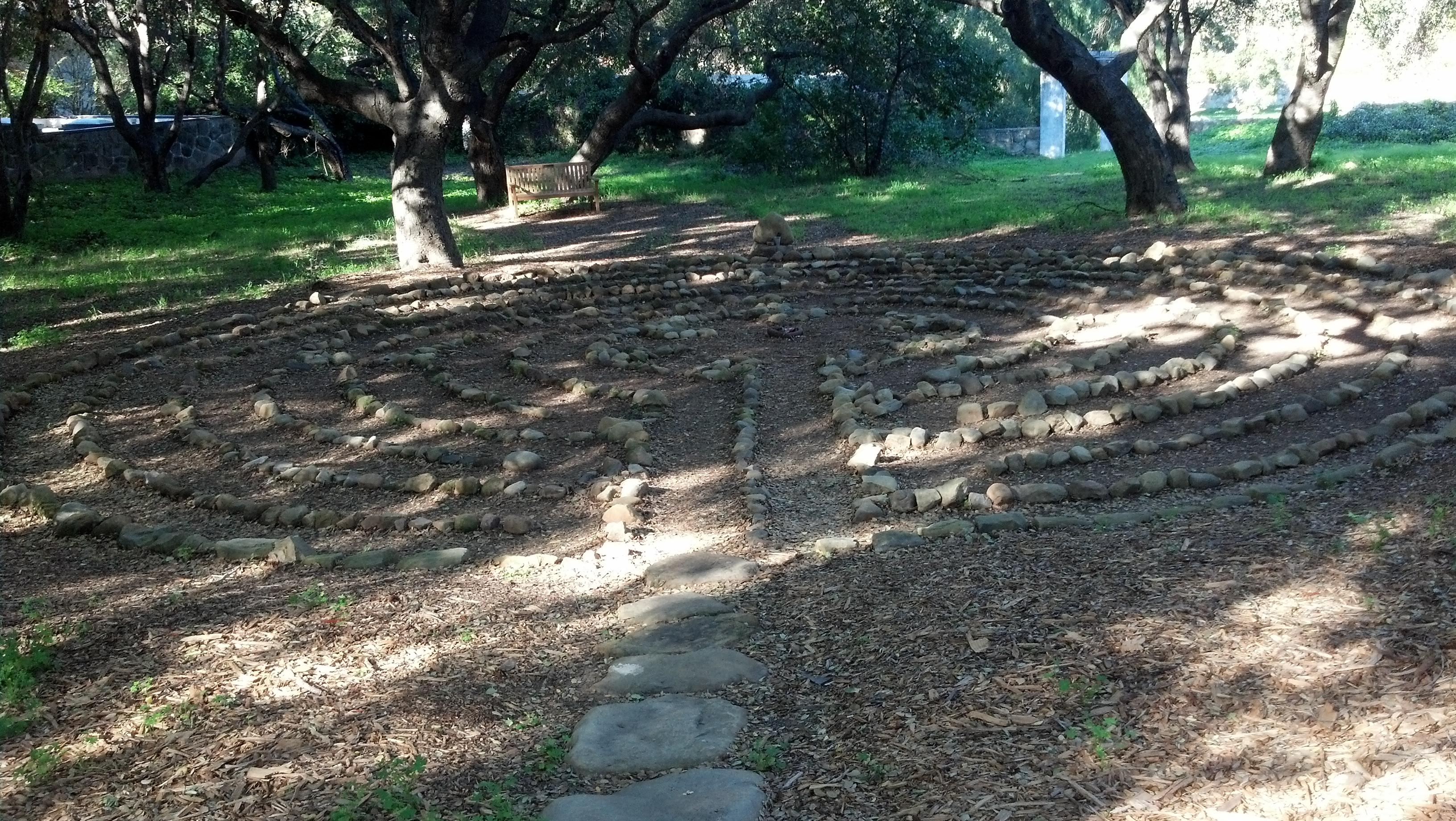 Labyrinth Casa de Maria