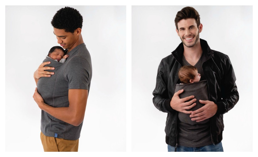 f674c1569 This Awesome Shirt Makes Babywearing Easy for Dad - Mothering