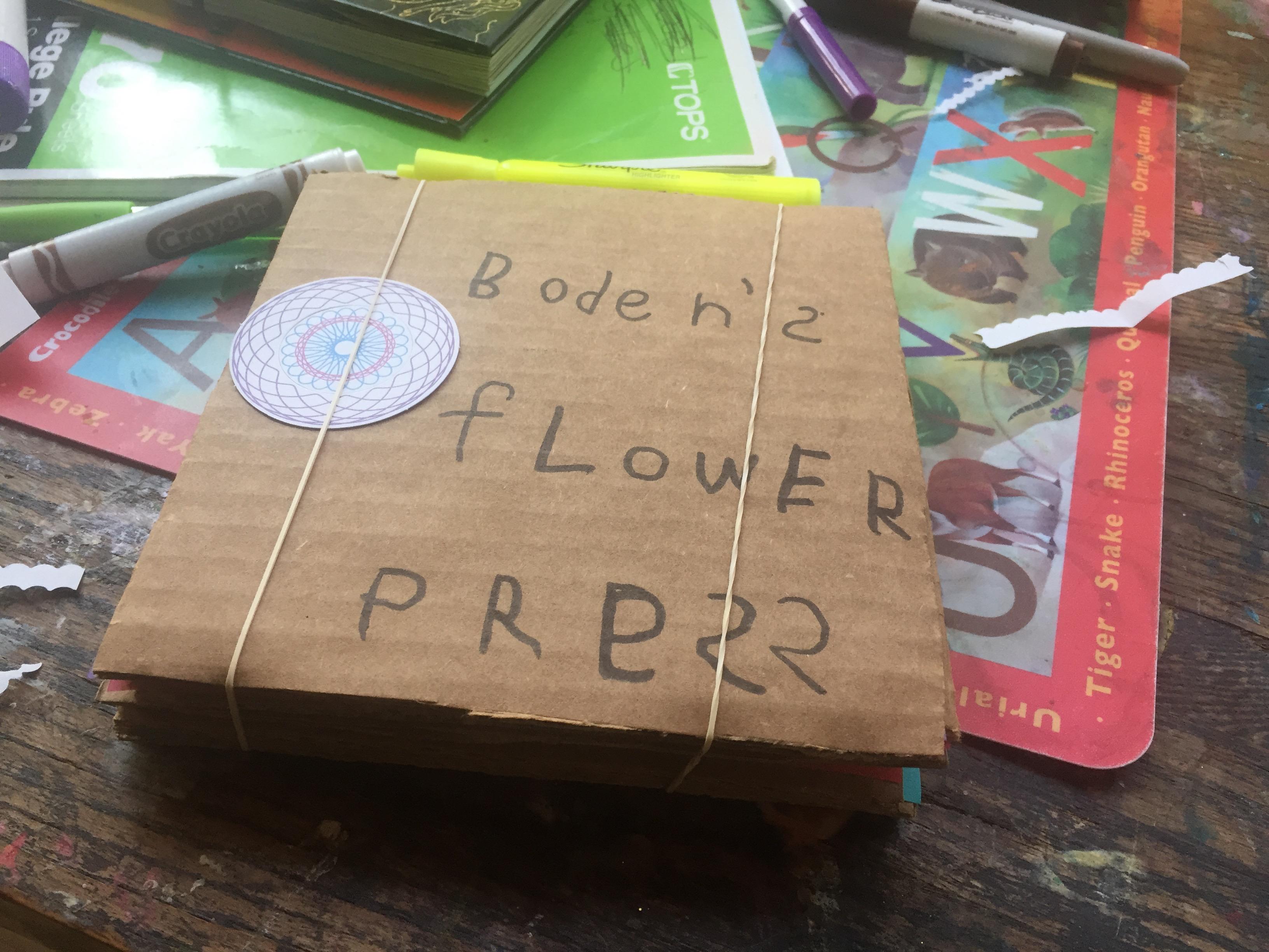 Make a Flower/Leaf Press Tutorial