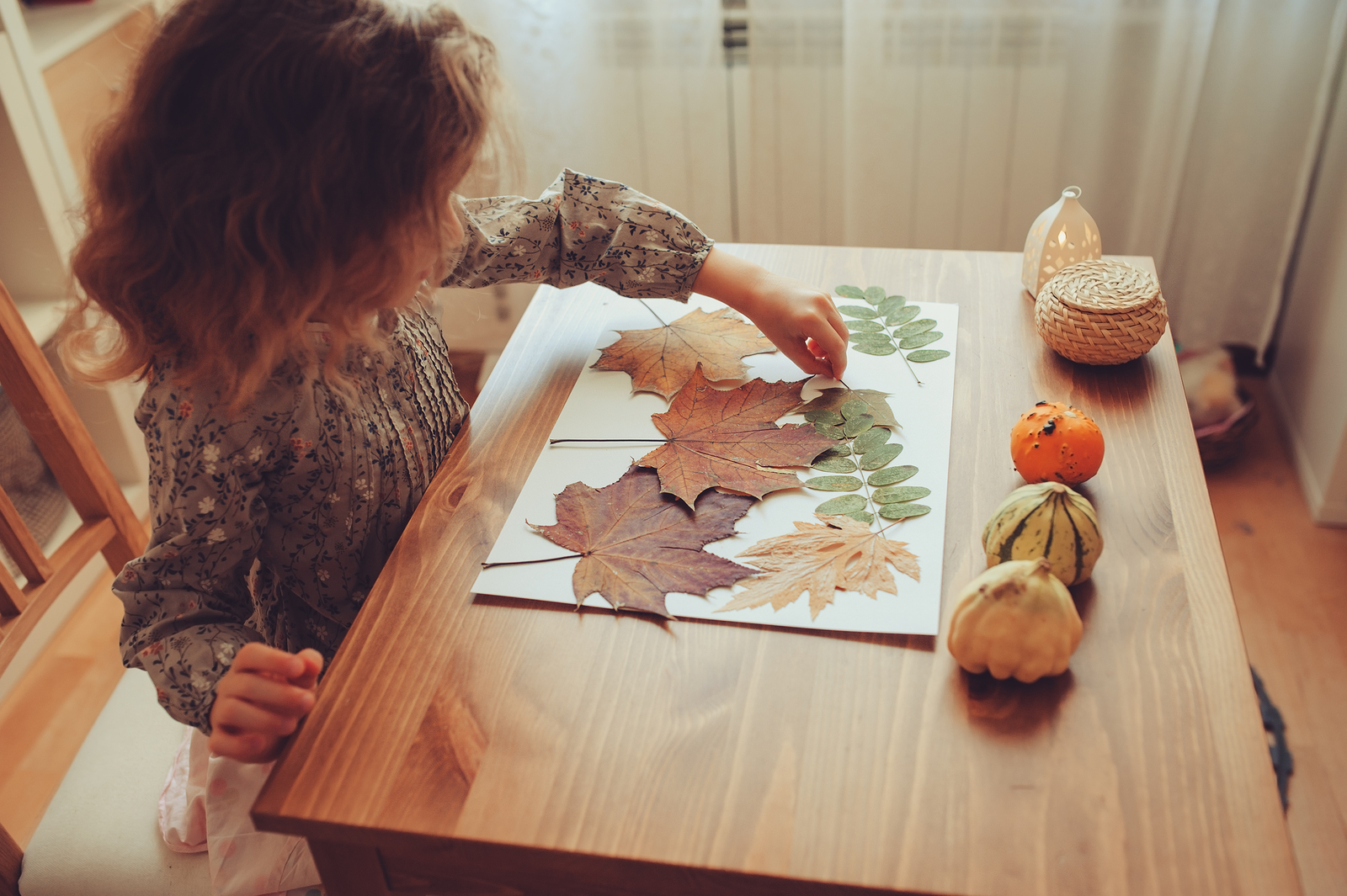 DIY for Kids: How to Make a Flower/Leaf Press