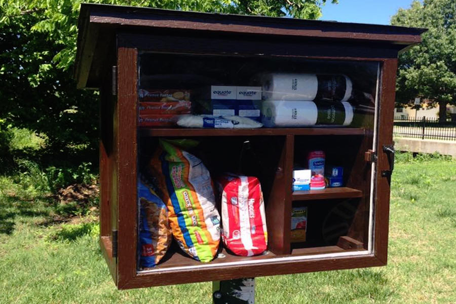 Little Free Pantries is a Food Bank on Your Lawn - Mothering