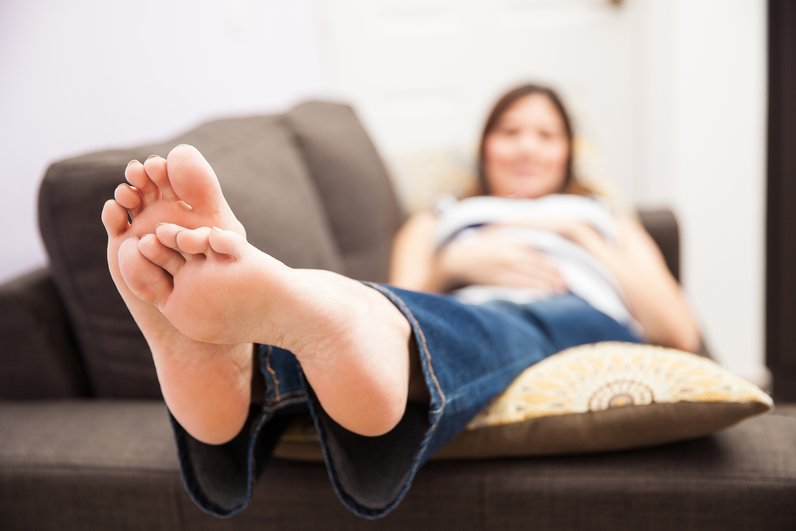 MommySteps knows your feet may seem like strangers for the duration of your pregnancy.
